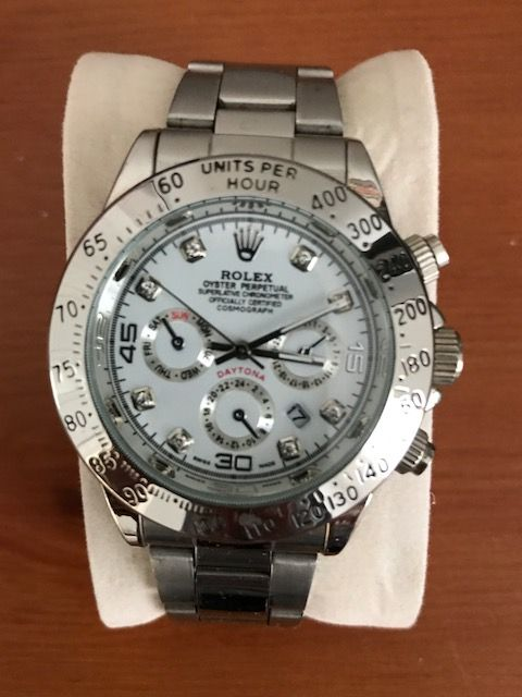 d29ca9cc589 rolex-white-face. I purchased this replica Rolex Daytona ...