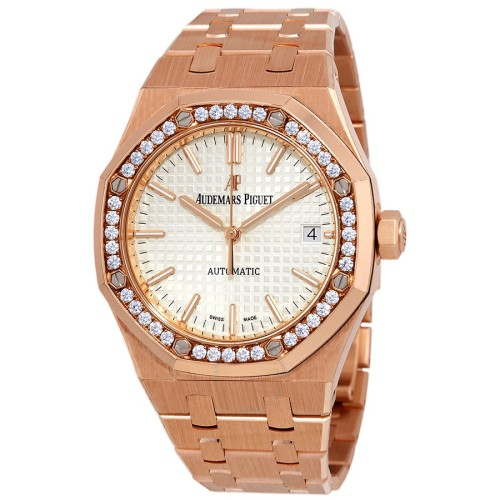 audemars-piguet-royal-oak-silvered-dial-ladies-watch-15451or.zz.1256or.01