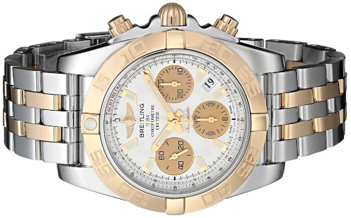 breitling gold silver 1