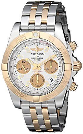 breitling gold silver