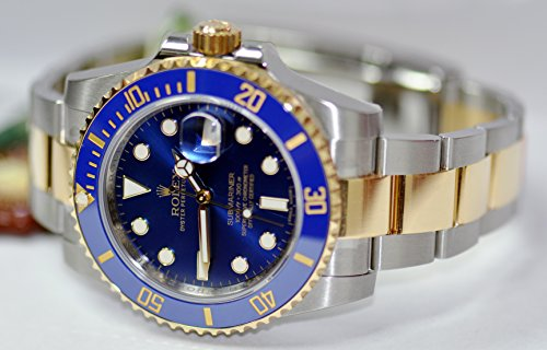 rolex blue side