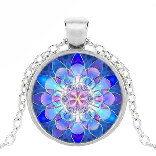 vintage-blue-lotus-mandala-necklace-