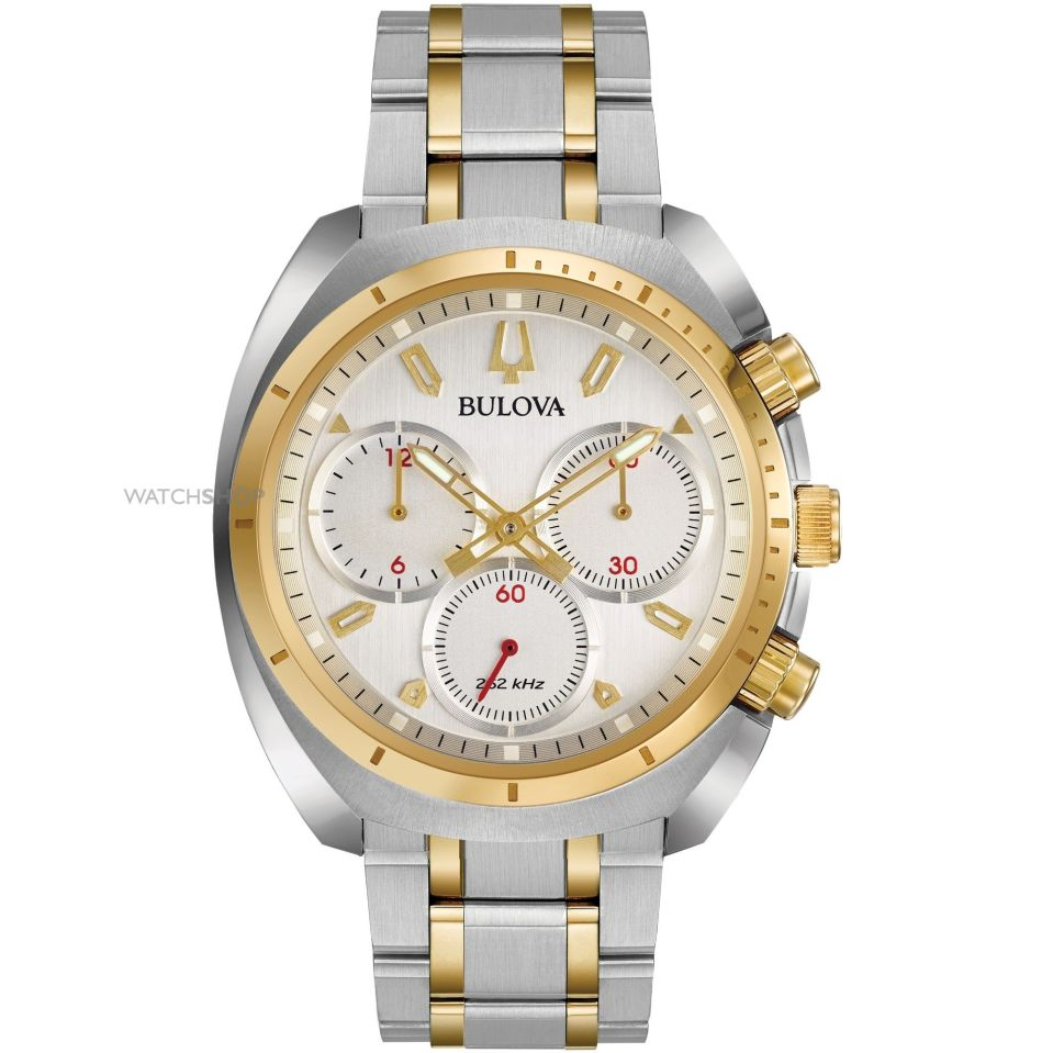 bulova gold silver watch